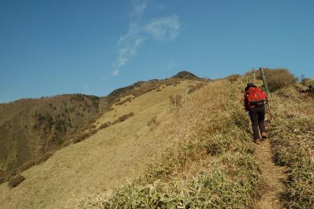 6キスゲ平から赤薙山へ