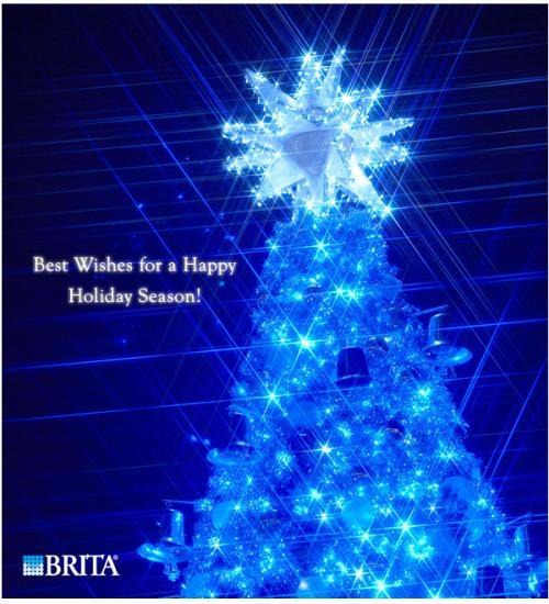 BRITAからいただいたクリスマス画像♪