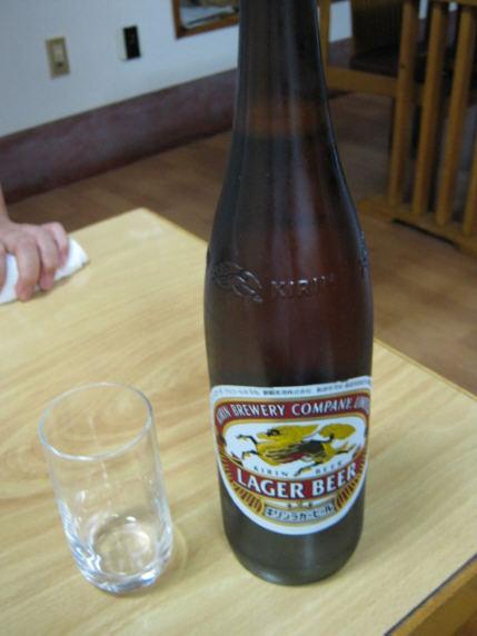 泉食堂ビール091018