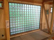 ガラスブロックの施工03