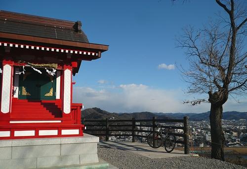 男浅間神社-全景