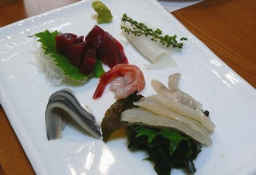 双葉寿司-刺身盛合わせ