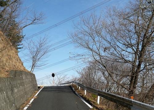 粟谷松田線-峠