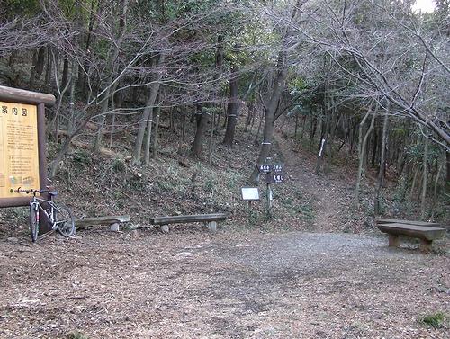大坊山-案内図入り口