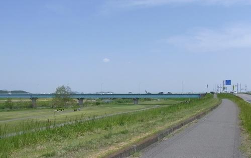 遊水地-川崎橋