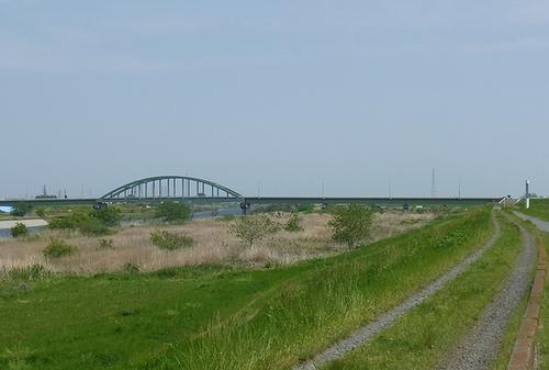 遊水地-高橋大橋