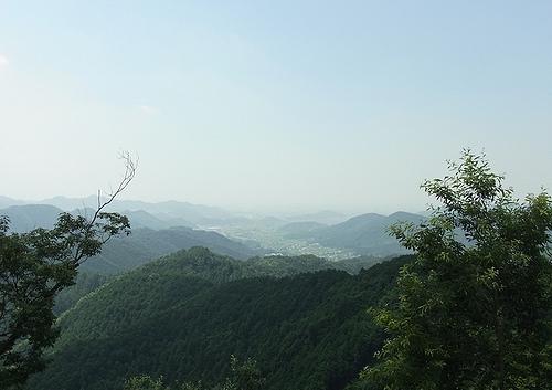 彦間浅間遊歩道-名草山眺望