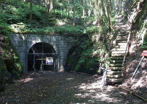 彦間浅間遊歩道-大正トンネル