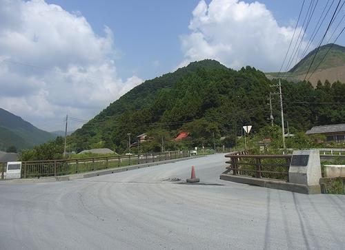 林道白岩柿平線-越沢橋