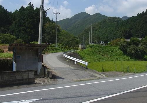 林道白岩柿平線-柿平出口