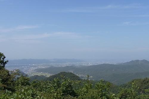大岩山行道山馬打峠-行道山桐生側展望