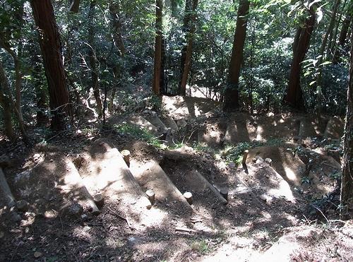 大岩山行道山馬打峠-大岩階段