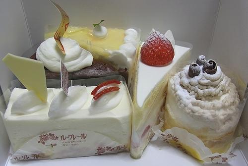 ルクレールのケーキ