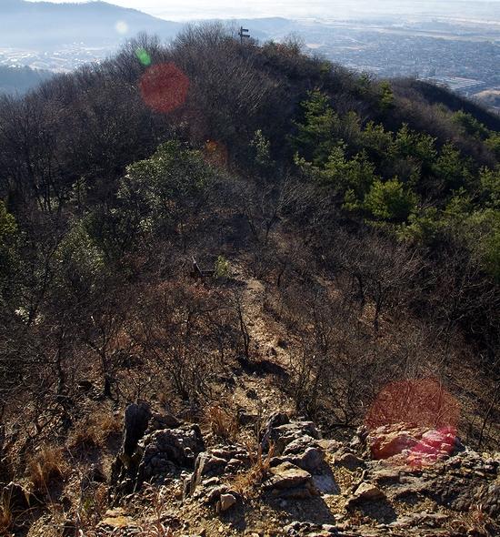 御嶽山~あわぎ山-あわぎ山岩場0122