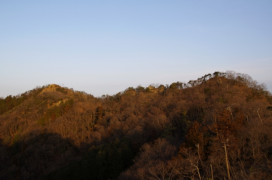 三床山-高松から一床山展望
