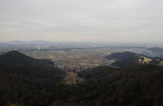西場富士-阿夫利神社方面眺望