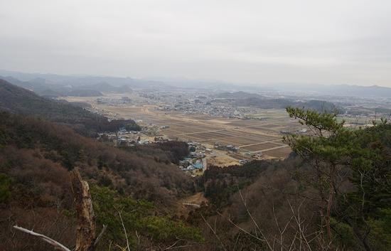 西場富士-赤見方面眺望
