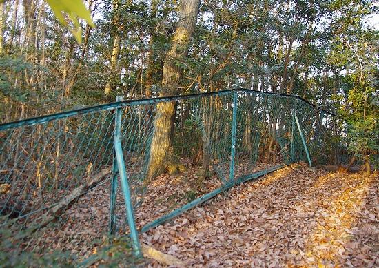 多田木山-フェンス