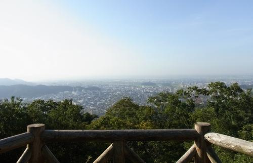 大綱林道~両崖山~織姫公園-展望台