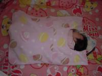 赤ちゃん毛布マカロン