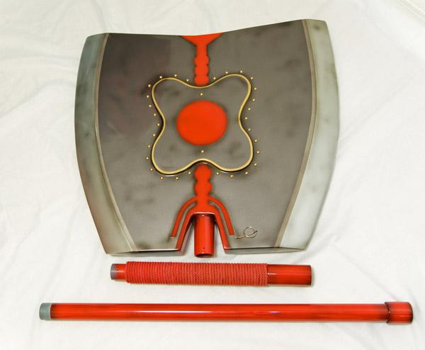 軍配斧 3分割式