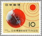 日本標準時制定75年