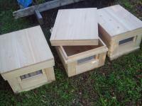 ミツバチ巣箱完成H211120