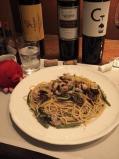 9月ワインとパスタ