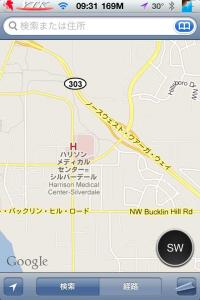 Compass for Google Map 02