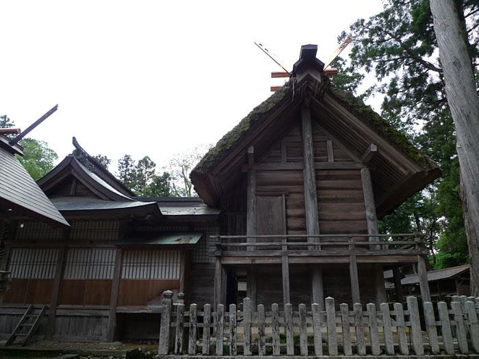 京都府 元伊勢 外宮 本殿