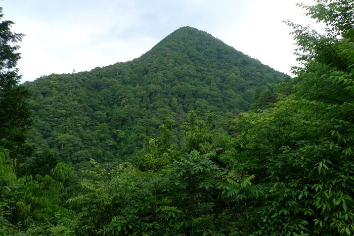 元伊勢 内宮 ご神体の山