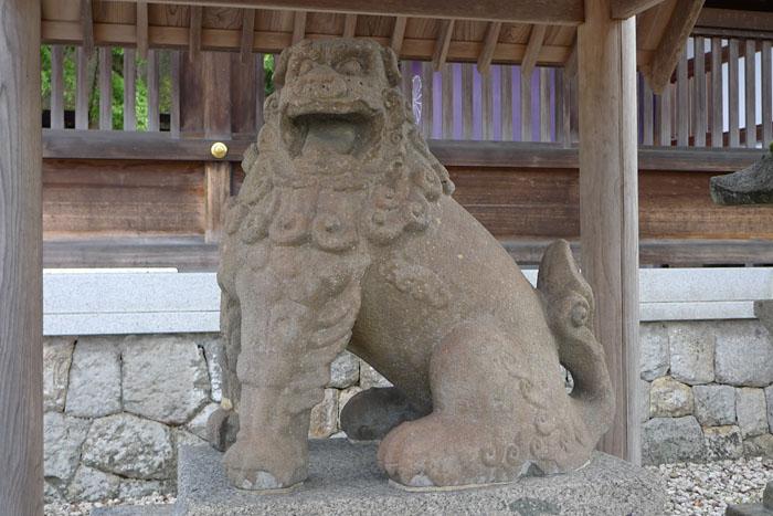 元伊勢 籠神社 狛犬2