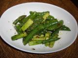 緑野菜のぺペロンチーノ