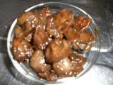 鳥レバーのソース煮