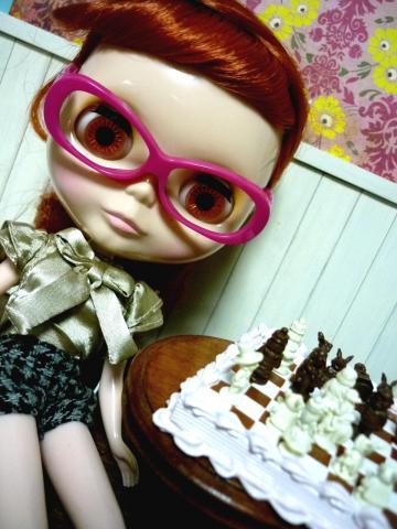 ピンク眼鏡のフレンドリーです!