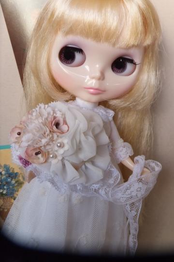 お花のヘッドドレス