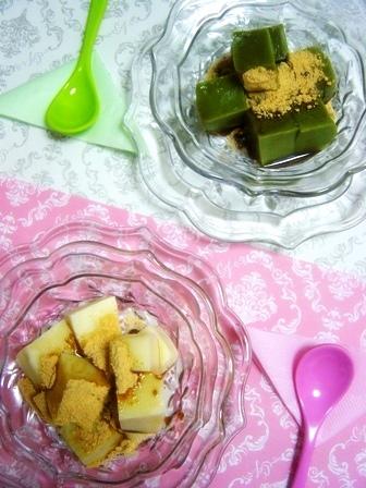 豆乳わらび餅 (2)