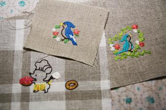 刺繍三種類