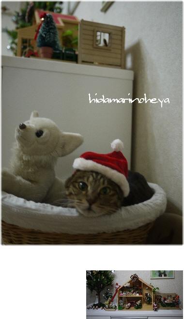 クリスマスとハナサンタ