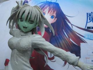 ワンフェス2011冬 GSプロジェクトEX 新作 原型TEIJI 蒼崎青子(魔法使いの夜)