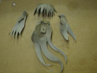 ワンダーフェスティバル2011冬 GSプロジェクトEX 新作 原型TEIJI 蒼崎青子(魔法使いの夜)