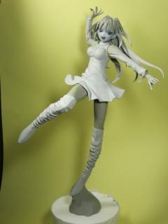 ワンダーフェスティバル2011冬 GSプロジェクトEX 新作 原型TEIJI 蒼崎青子(魔法使いの夜)より