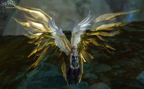 古代精霊の羽