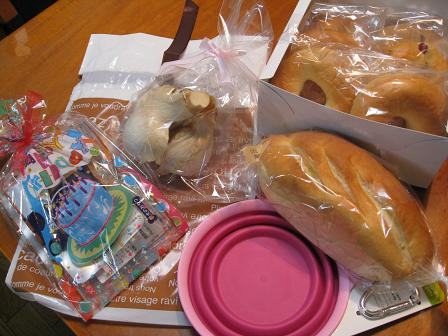 パンとプレゼント