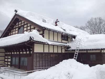 雪下ろし研修棟