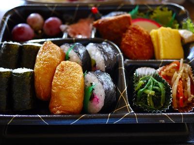 中島さんの豪華お弁当
