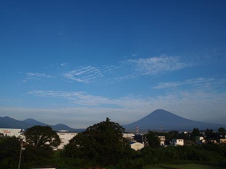 夏の終わりの富士山 2