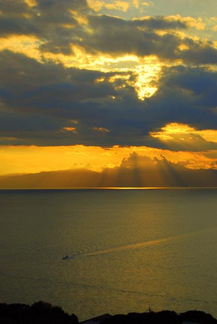 sunset enoshima