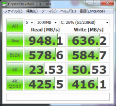 2012新PC CrystalDiskMark