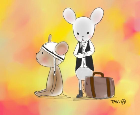 都会ネズミと穴ほりネズミ